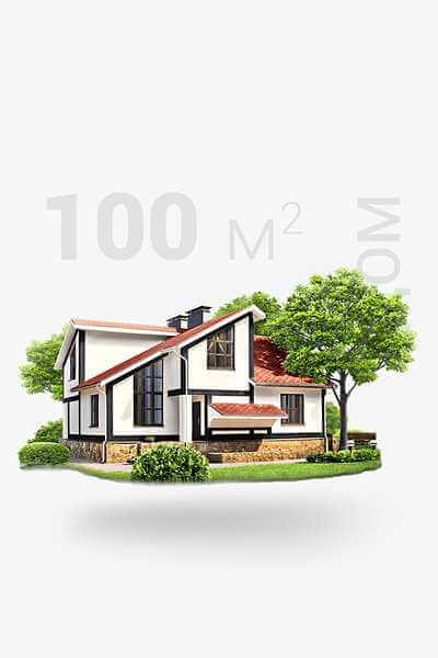 Дом 100 м2